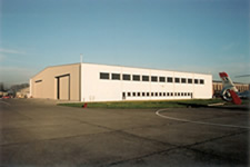 Double Hangar at Casement Military Aerodrome