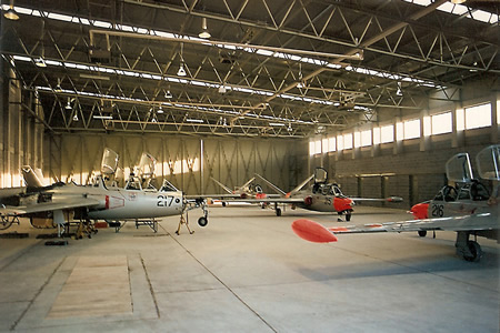 Casement Aerodrome Double Hangar & Military Aircraft Museum