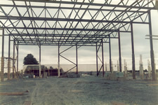 Airport Hall construction